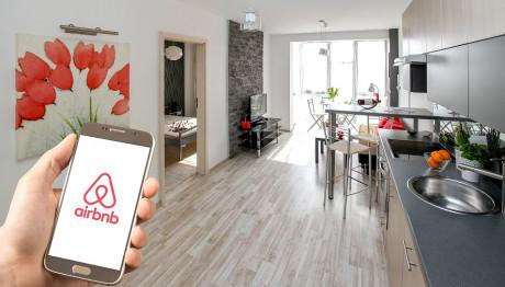 Σπίτι στην πλατφόρμα ενοικίασης Airbnb