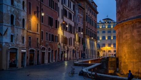 Γραφικη γειτονιά της Ρώμης