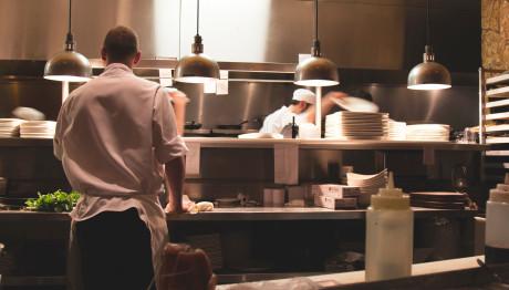 Σεφ σε εστιατόριο