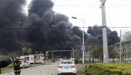 Έκρηξη σε εργοστάσιο