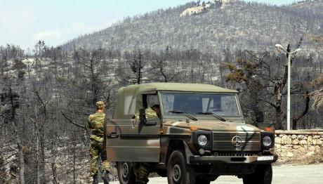 στρατιωτικό όχημα