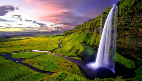 Καταρράκτης στην Ισλανδία