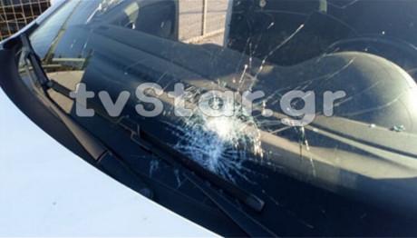 Τα αυτοκίνητα που δέχθηκαν την επίθεση