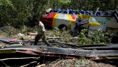 Δυστύχημα με λεωφορείο στη Βολιβία