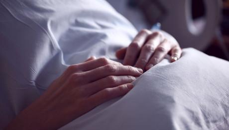 ασθενής σε νοσοκομείο
