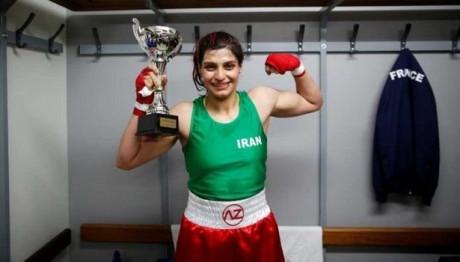 Ιρανή πυγμάχος