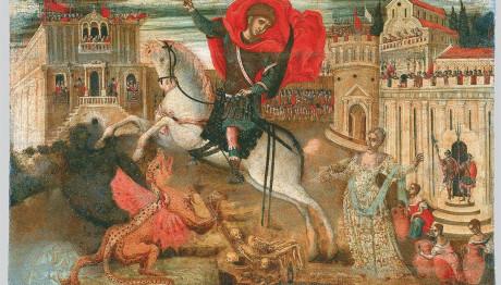 Αποτέλεσμα εικόνας για αγιος γεωργιος θρυλοι και παραδοσεις