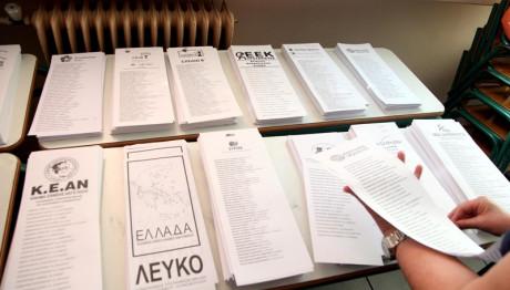 ψηφοδέλτια κομμάτων ευρωεκλογές