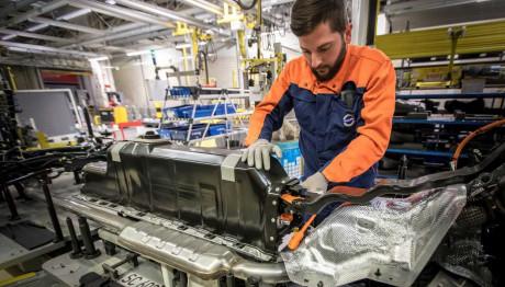 Volvo μπαταρίες ηλεκτροκίνηση