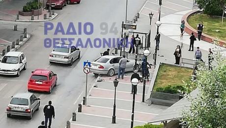 Εικόνα από το σημείο του ατυχήματος