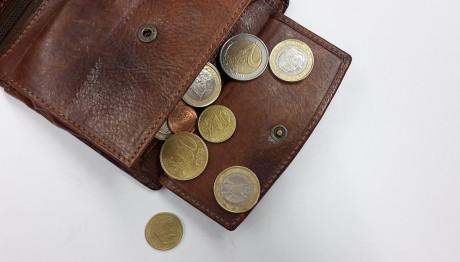 Πορτοφόλι με κέρματα