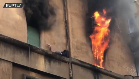 Φωτιά σε διαμέρισμα στη Ρώμη
