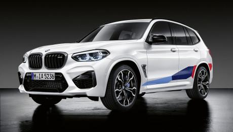 BMW X3 Μ Και X4 Μ αξεσουάρ ανθρακονήματα