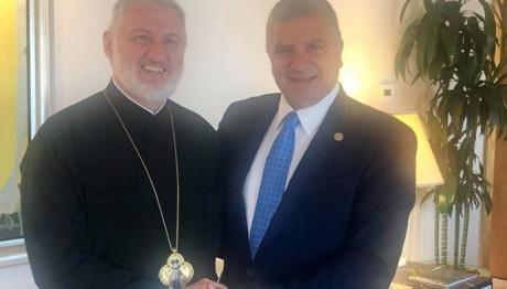 Γιώργος Πατούλης- νέος Αρχιεπίσκοπος Αμερικής Ελπιδοφόρος