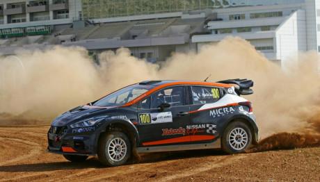 Nissan Micra Θέμης Χαλκιάς αγώνας Κύπρος