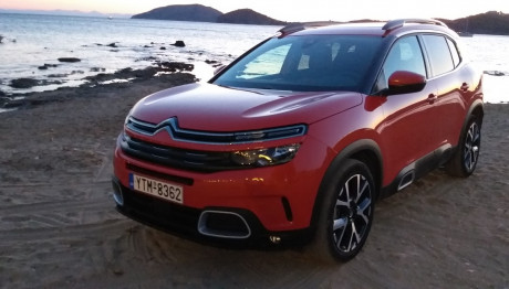 Citroen C5 Aircross 1.5 BlueHDi 130 EAT8 δοκιμή