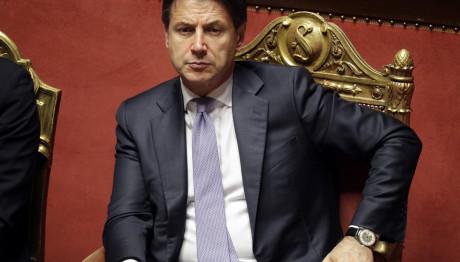 O Ιταλός Πρωθυπουργός Τζουζέπε Κόντε