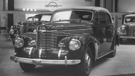 Opel Ιστορία Διεθνής έκθεση αυτοκινήτου