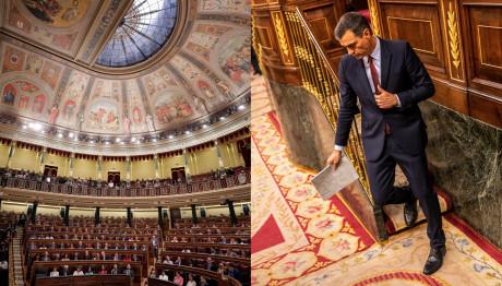Η Ισπανική Βουλή και ο Πέδρο Σάντσεθ