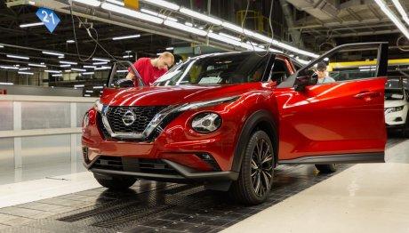 Nissan JUKEπαραγωγή