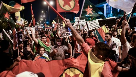Πορείες Κούρδων στην Αθήνα