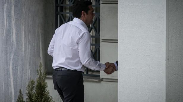 O Αλέξης Τσίπρας μπαίνει στο Υπουργείο Εξωτερικών