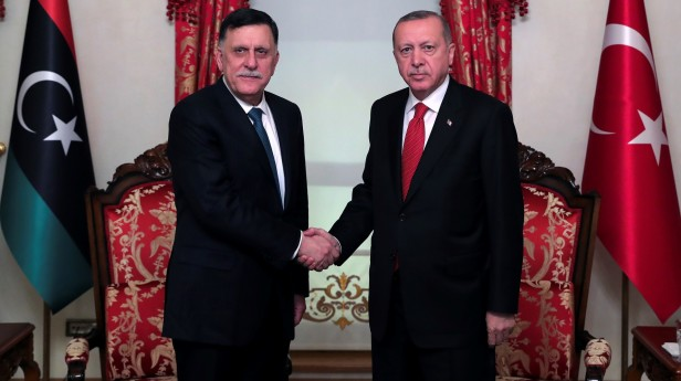 Τουρκία-Λιβύη