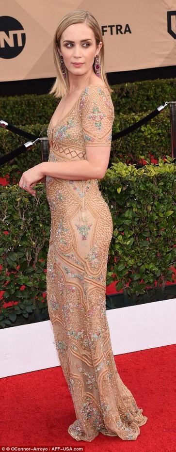 be4f8b180508 SAG Awards 2017  ΔΕΙΤΕ τι φόρεσαν οι celebrities στο κόκκινο χαλί ...