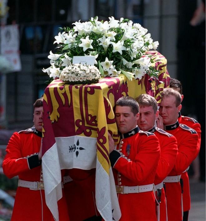 Πριγκίπισσα Νταϊάνα φέρετρο κηδεία