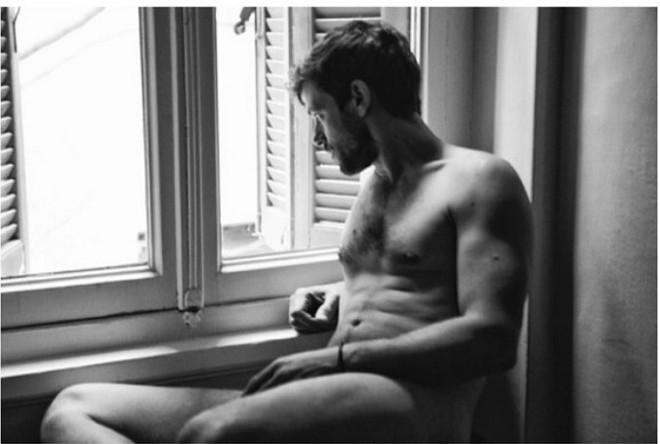 μαύρο γυμνό φωτογραφία