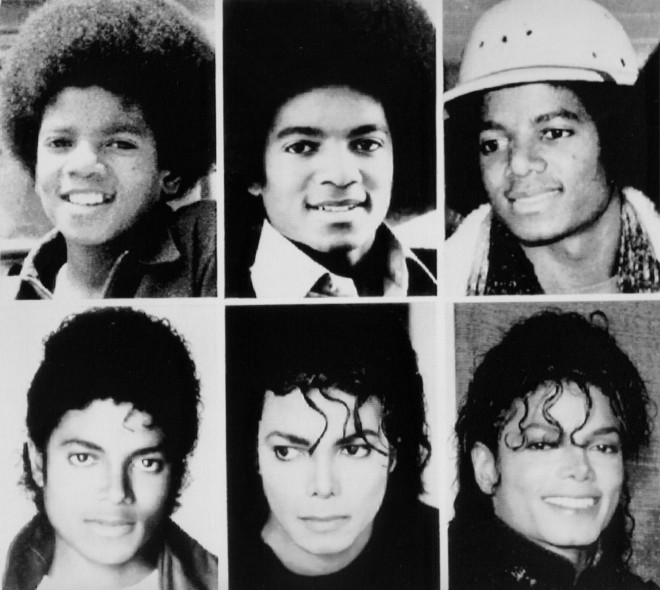 Michael Jackson over the years