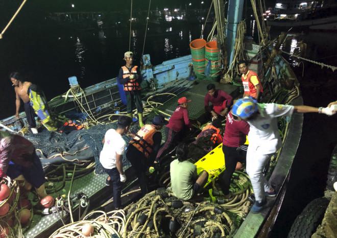 Ταϊλάνδη βύθιση πλοίου