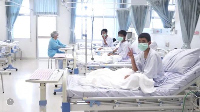 Τα 12 αγόρια στο νοσοκομείο της Ταϊλάνδης