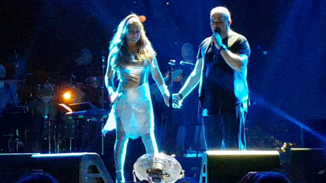 Ρέμος - Παπαρίζου: συναυλία στο Κατράκειο