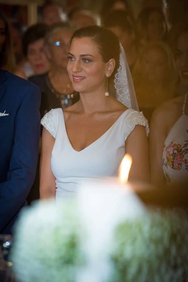 d28c5583b70a Ο γάμος τους τελέστηκε στον Ιερό Ναό του Αγίου Δημητρίου στον Λόγγο Αιγίου