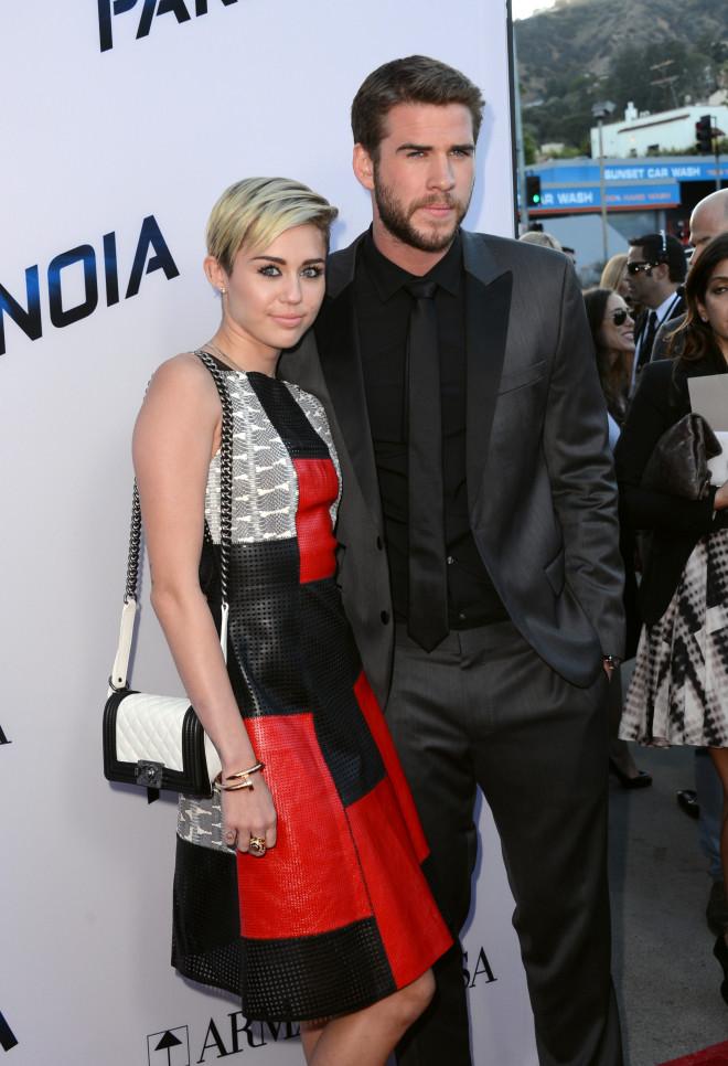 Miley Cyrus και Liam Hemsworth