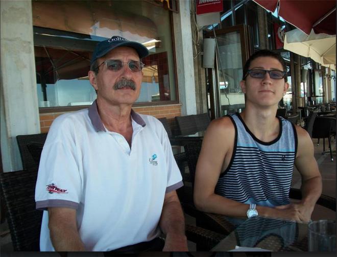 O 68χρονος Πλάτων Καβάφης και ο γιος του, που αγνοείται