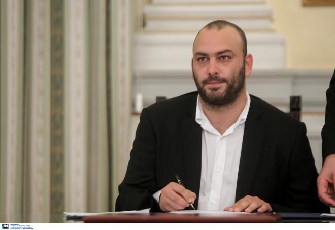 Στάθης Γιαννακίδης (υφυπουργός Οικονομίας και Ανάπτυξης).