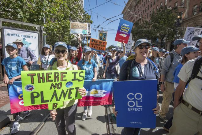 Rise for Climate: Διαδήλωση για το κλίμα στο Σαν Φρανσίσκο