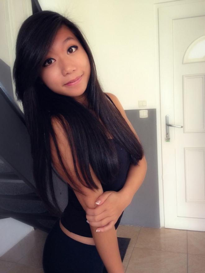 Η Sophie Le Tan φοιτήτρια στο Στρασβούργο