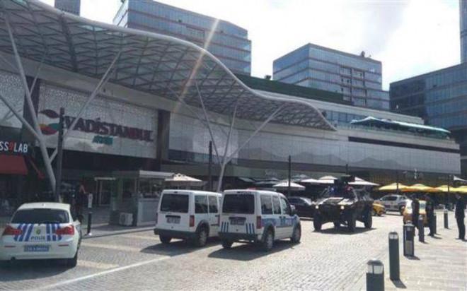 Το εμπορικό όπου έγινε η επίθεση στην Κωνσταντινούπολη