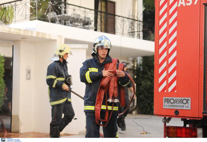 Πυρκαγιά σε σπίτι στα Μελίσσια