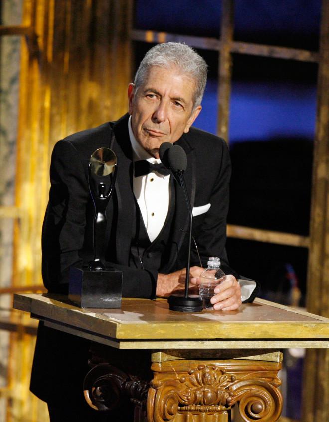 Leonard Cohen Grammy