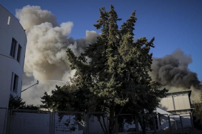 Φωτιά Πανεπιστήμιο Κρήτης
