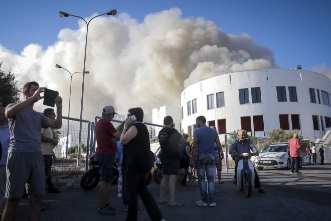 Πανεπιστήμιο φωτιά