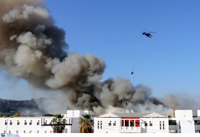 Κρήτη φωτιά Πανεπιστήμιο