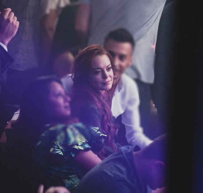 Lindsay Lohan Κωνσταντίνος Αργυρός