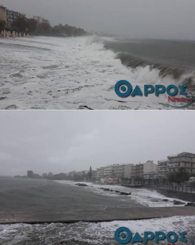 Ο κυκλώνας Ζορμπάς σαρώνει τη Μεσσηνία