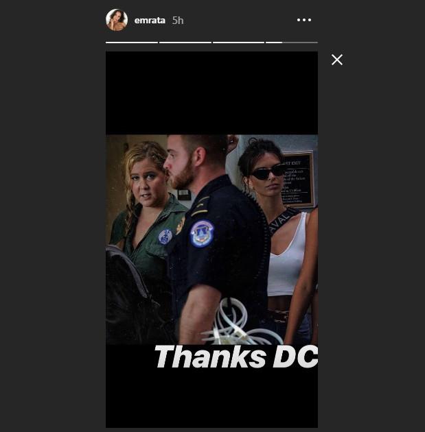 Συνελήφθη Emily Ratajkowski