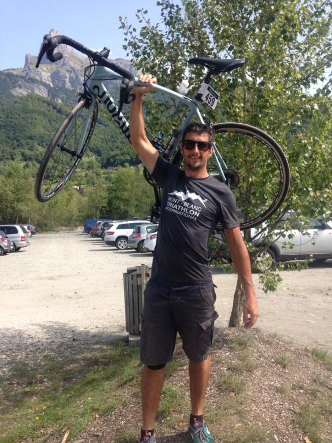 Ο 34χρονος Βρετανός ποδηλάτης Mark Sutton